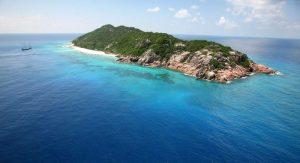 Aride island seychelles aerial view