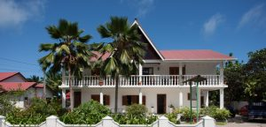 Amitie Chalets seychelles front view