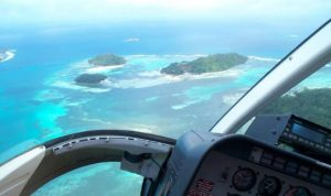 Helicopter tour seychelles