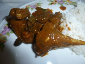 Bat curry Seychelles
