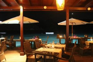 Del Place and Bar restaurant Seychelles